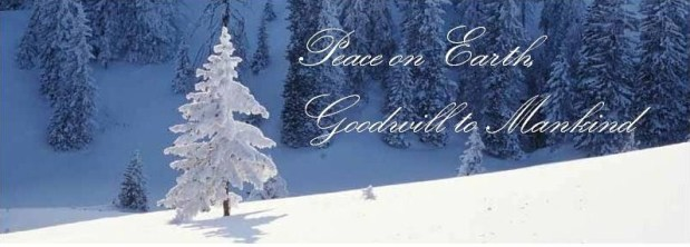 Merry Christmas, Peace on Earth